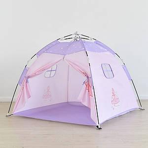 Дитячий намет Lesko AJ201908 Princess Pink ігровий будиночок для дітей
