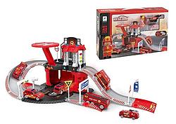 """Дитячий гараж / паркінг """"пожежна станція six-six-Zero"""" вид 2"""
