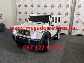 Джип Mercedes-Benz AMG M 3567EBLR-1 белый 2 мотора 35W, аккумулятор 12V10AH до 30кг в наличии Днепр