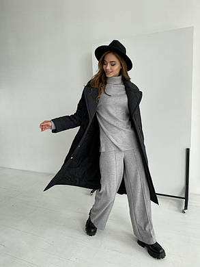 Женское стеганое пальто демисезонное (р. XS, S, M, L, XL) арт. 48515/116-97, фото 2