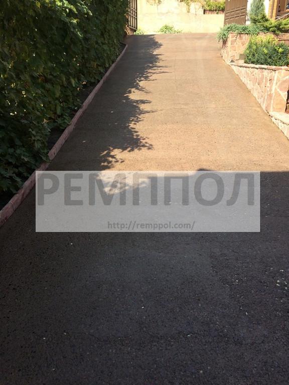 Восстановление открытой бетонной площадки