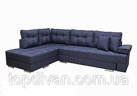 """Кутовий диван """"Прінстон"""". Люкс 20. Габарити: 2,95 х 2,10 Спальне місце: 2,00 х 1,60"""