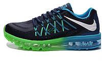 Кроссовки мужские Nike Air Max 2015 black-blue-green