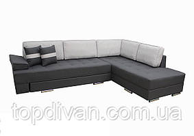 """Кутовий диван """"Прінстон"""". (тканина 10) Габарити: 2,95 х 2,10 Спальне місце: 2,00 х 1,60"""