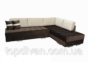 "Угловой диван ""Принстон"". (ткань 6 ) Габариты: 2,95 х 2,10  Спальное место: 2,00 х 1,60"