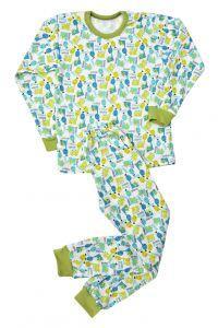 Піжама дитяча з манжетом байка 98-116 розміри