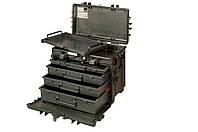 Жесткие кейсы, Heavy duty rigid 4 drawers case on wheels, Bahco, 4750RCWD4