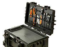 Жесткие кейсы,  Fixed under lid tool pallet- adjustable elastics, Bahco, 4750RCWD-AC4