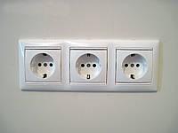 Монтаж и подключение электроточки