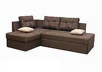 """Кутовий диван """"Сандро"""". (Люкс 12) Габарити: 2,25 х 1,70 Спальне місце: 2,05 х 1,45, фото 1"""