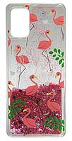 Накладка SA A315 pink Flamingo аквариум
