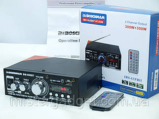 Підсилювач Звуку Boschmann BM-699BT FM USB Bluentooth