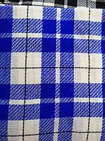 Шерстяной платок синий, фото 1