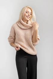 Вязанные теплые женские кофты, свитера, джемперы