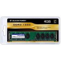 Модуль памяти для компьютера DDR3 4GB 1333 MHz Silicon Power (SP004GBLTU133V02 / SP004GBLTU133V01)