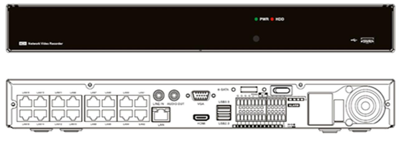 Видеорегистратор RCI RN3008-P