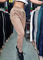 Женские брюки джогеры на резинке, фото 1