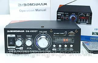 Підсилювач Звуку BM-699BT Boschmann FM, SD card, USB, BLUETOOTH