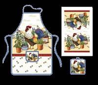 Кухонный набор Петух 3 предмета OSELYA UKRAINE