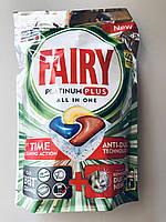 Таблетки для посудомоечной машины Fairy Platinum Plus All in One, 40 шт