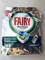 Таблетки для посудомоечной машины Fairy Platinum  All in One, 75 шт