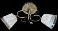 Люстра потолочная Sirius Ю 9239/2 на 2 плафона