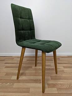 """Мягкий обеденный стул """"Лайт"""" для кухни зеленый"""