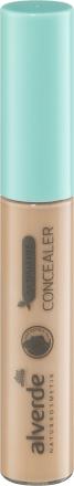 Консилер alverde NATURKOSMETIK Concealer Korrekturpinsel Sensitive Ivory 01 8,5 мл
