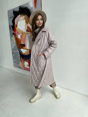 Женское стеганое пальто демисезонное (р. XS, S, M, L, XL) арт. 48532/116-97, фото 2