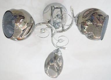 Люстра Класична Sirius 9609В / 3 на 3 плафони, фото 2