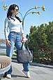 """Стильная сумка """"Ashley New"""" - 11 - BLACK  - цвет черный, фото 2"""