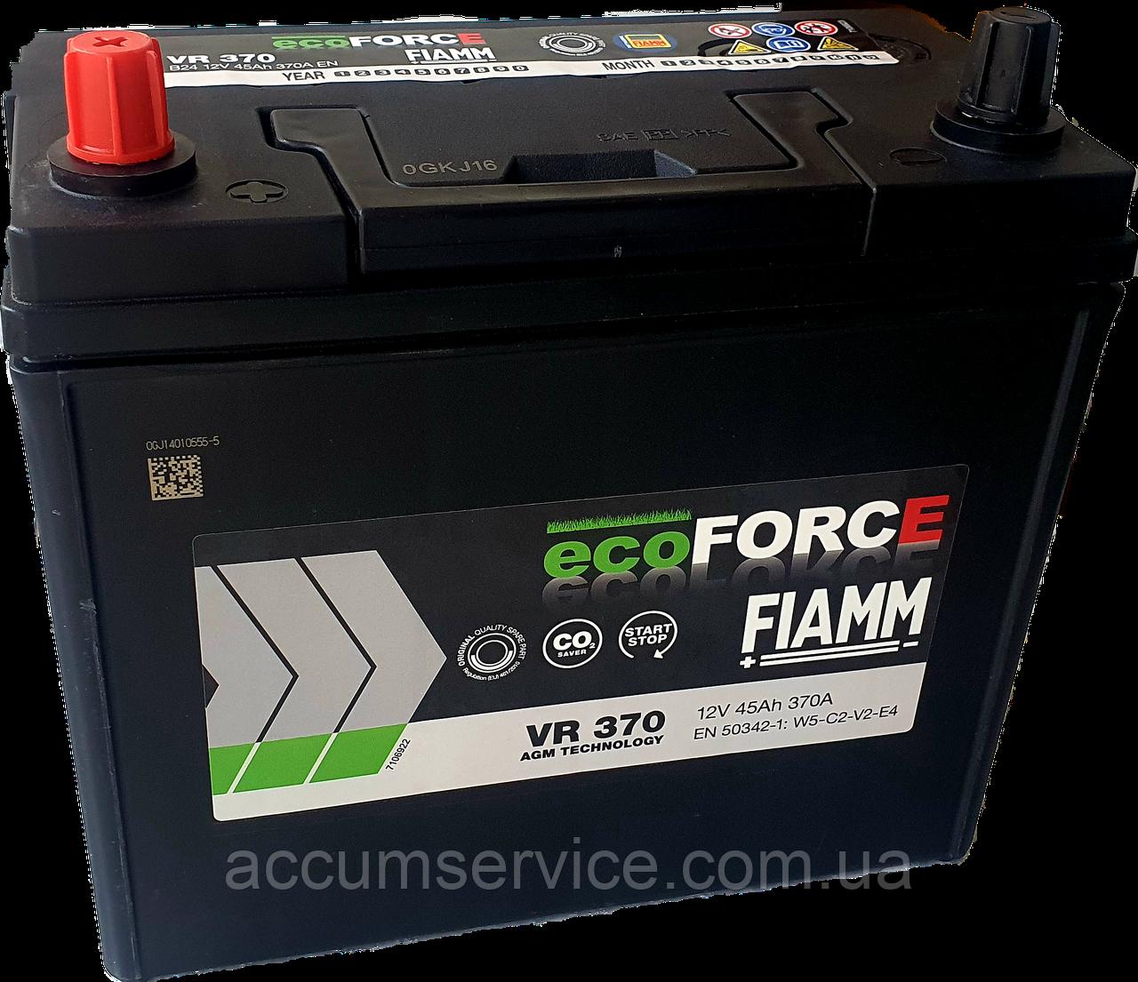 Акумулятор FIAMM ECOFORCE AGM VR 370 B24