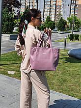 """Стильная сумка """"Ashley New"""" - №20 - ORCHID  - цвет светло-фиолетовый"""