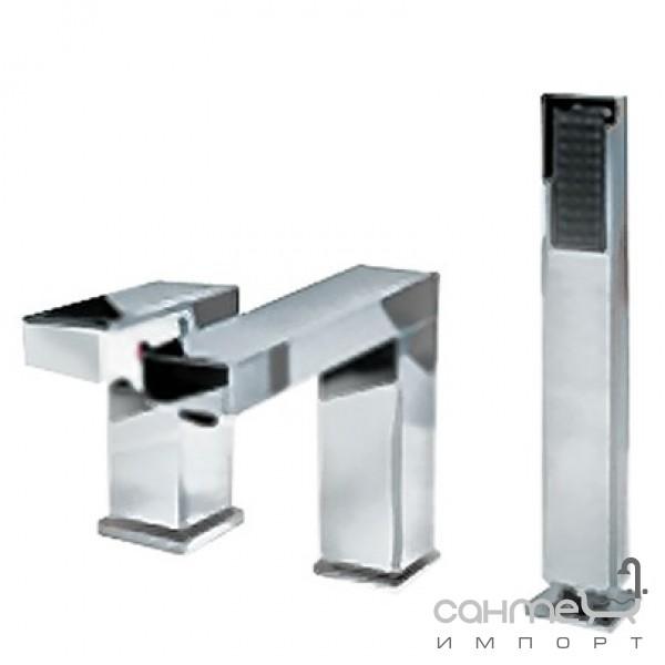 Смесители Welle Врезной смеситель для ванны Welle XM28024D-1320B
