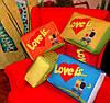 """Подушка """"Love is"""" большая разные цвета"""