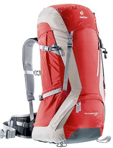 Удобный треккинговый рюкзак DEUTER Futura Pro 42, 34281 5610 красный