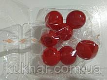 Желатинові кульки для прткрашання тортів Червоний (7шт)