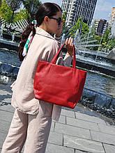 """Стильная сумка """"Ashley New"""" - №18 - AUTUMN LEAVES   - цвет красный"""