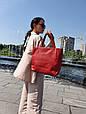 "Стильная сумка ""Ashley New"" - №18 - AUTUMN LEAVES   - цвет красный, фото 2"