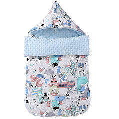 Конверт-одеяло Lovely Baby Lesko J21 Fairy World для малыша новорожденного на выписку