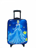 """Детский чемодан на 2 колесиках """"Золушка"""", телескопическая ручка 2 положения"""