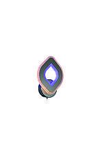 Бра настінна світлодіодна акрилова Sirius LI8883/1B CR (BL+YL) 30W