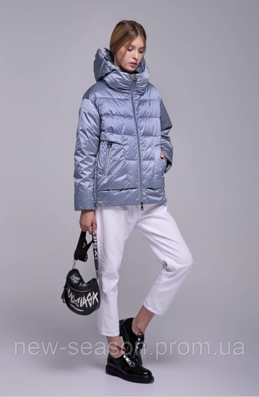 Куртка демисезонная короткая Batterflei 2116 голубой