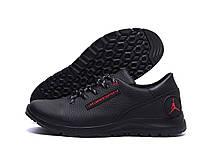 Чоловічі шкіряні кросівки Jordan Red Style (репліка)