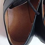 Чоловічі шкіряні туфлі 44-28.5 см LIVERGY, фото 2