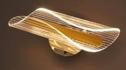 Бра настінне світлодіодна акрилове Sirius N 3722-1 GOLD 16W