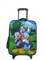 """Детский чемодан на 2 колесиках """"Дисней"""", телескопическая ручка 2 положения"""