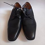 Чоловічі шкіряні туфлі 44-28.5 см LIVERGY, фото 3