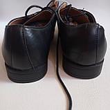 Чоловічі шкіряні туфлі 44-28.5 см LIVERGY, фото 4