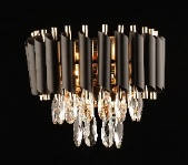 Бра настенное хрустальное Sirius B E1348 / 2W на 2 лампочки